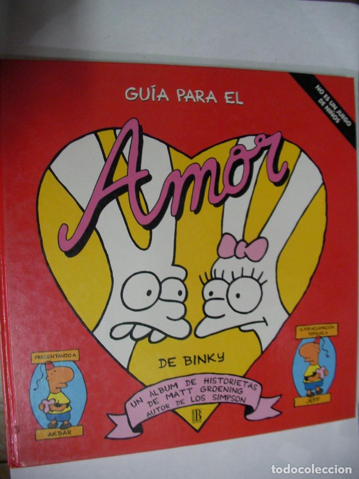 GUIA PARA EL AMOR DE BINKY (AUTOR DE LOS SIMPSON) (Tebeos y Comics Pendientes de Clasificar)