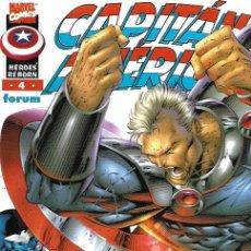 Cómics: HEROES REBORN: CAPITÁN AMÉRICA. FORUM 1997. Nº 4. Lote 174567835