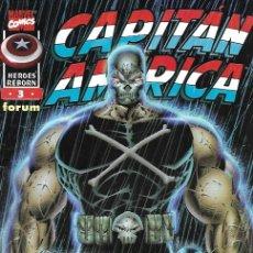 Cómics: HEROES REBORN: CAPITÁN AMÉRICA. FORUM 1997. Nº 3. Lote 174567850