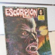 Cómics: RELATOS TERROR SICOLOGICO ESCORPION Nº 19 - VILMAR EDICIONES -. Lote 174575607