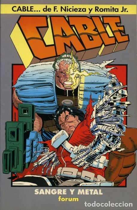 Cómics: CABLE - SANGRE Y METAL - FORUM - Foto 1 - 174929800