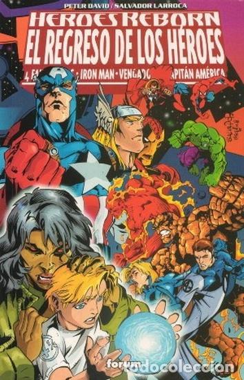 HEROES REBORN - EL REGRESO DE LOS HEROES - FORUM (Tebeos y Comics - Comics otras Editoriales Actuales)