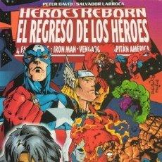 Cómics: HEROES REBORN - EL REGRESO DE LOS HEROES - FORUM. Lote 175031179
