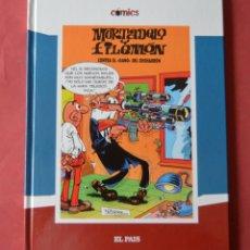 Cómics: MORTADELO Y FILEMON - CONTRA EL GANG DEL CHICHARRON - COMICS EL PAIS. Lote 175040295
