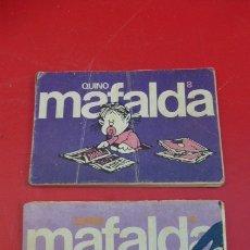 Cómics: MAFALDA...NUMERO 6 Y NUMERO 8..USADOS....TIRAS DE QUINO, EDITADAS POR LUMEN.. Lote 175060687