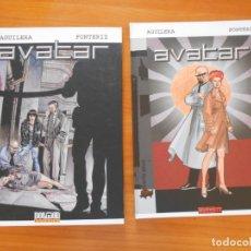 Cómics: AVATAR COMPLETA - 2 TOMOS TAPA DURA - AGUILERA, FONTERIZ - DOLMEN EDITORIAL (F1). Lote 175115702