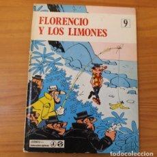 Cómics: EPITOM 9 FLORENCIO Y LOS LIMONES, BERCK Y ACAR. JAIMES LIBROS 1970 TAPA DURA. Lote 175123579