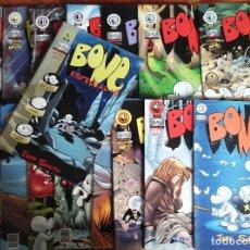 Cómics: BONE DE JEFF SMITH. 16 PRIMEROS NÚMEROS + ESPECIAL 1. DUDE COMICS. BUEN ESTADO. Lote 175234240