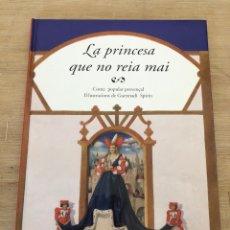 Cómics: LA PRINCESA QUE NO REIA MAI. Lote 175251587
