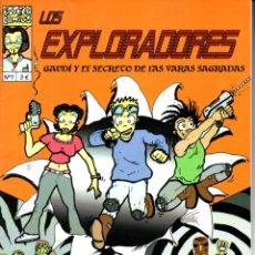 Cómics: LOS EXPLORADORES Nº 1 - GAUDÍ Y EL SECRETO DE LAS VARAS SAGRADAS (2010). Lote 175353185