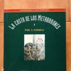 Cómics: LA CASTA DE LOS METABARONES I : OTHON EL TATARABUELO DE ALEJANDRO JODOROWSKY Y JUAN GIMENEZ. Lote 175411225