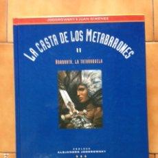 Cómics: LA CASTA DE LOS METABARONES I : HOONORATA LA TATARABUELA DE ALEJANDRO JODOROWSKY Y JUAN GIMENEZ. Lote 175411333