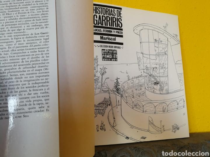 Cómics: HISTORIAS DE GARRIRIS MARISCAL.N°7.COLECCION MISIÓN IMPOSIBLE.1ª EDICIÓN 1987 - Foto 3 - 175434044