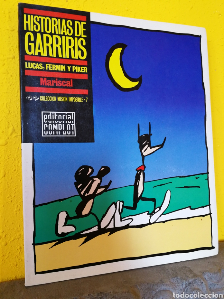 HISTORIAS DE GARRIRIS MARISCAL.N°7.COLECCION MISIÓN IMPOSIBLE.1ª EDICIÓN 1987 (Tebeos y Comics - Comics otras Editoriales Actuales)