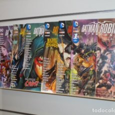 Cómics: BATMAN Y ROBIN ETERNOS COMPLETA 6 TOMOS - ECC - OFERTA. Lote 175455378