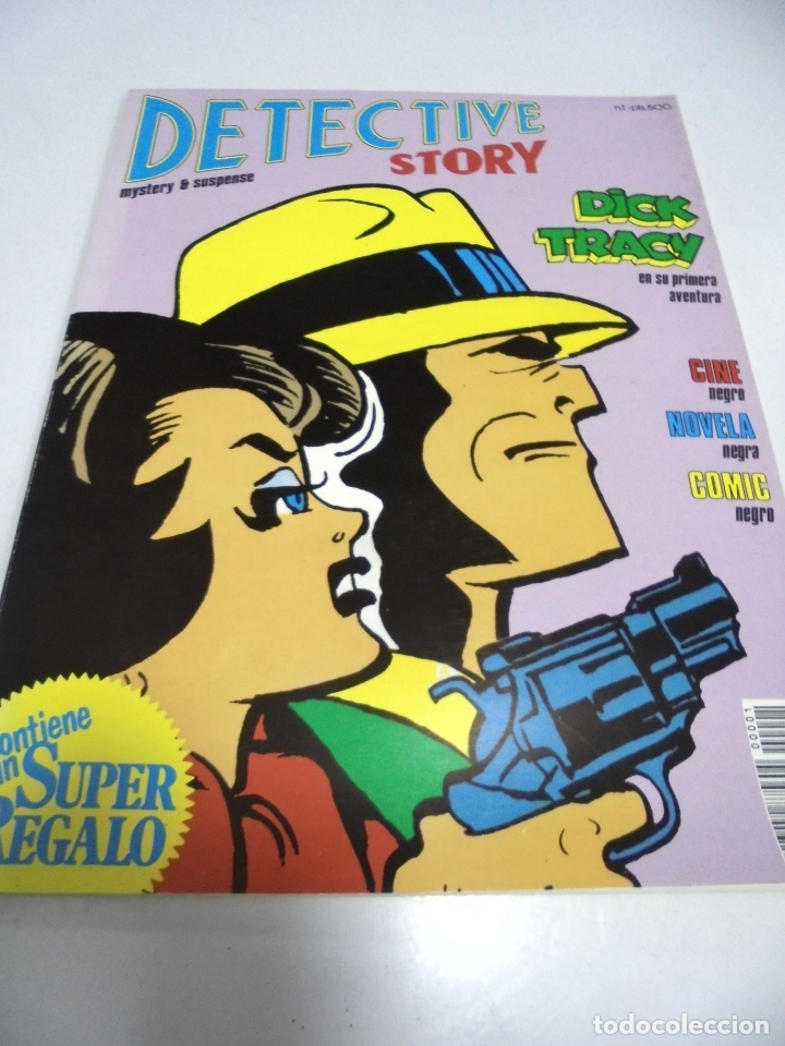 TEBEO. DETECTIVE STORY. Nº 1. MYSTERY & SUSPENSE. NEW COMIC 1989 (Tebeos y Comics - Comics otras Editoriales Actuales)