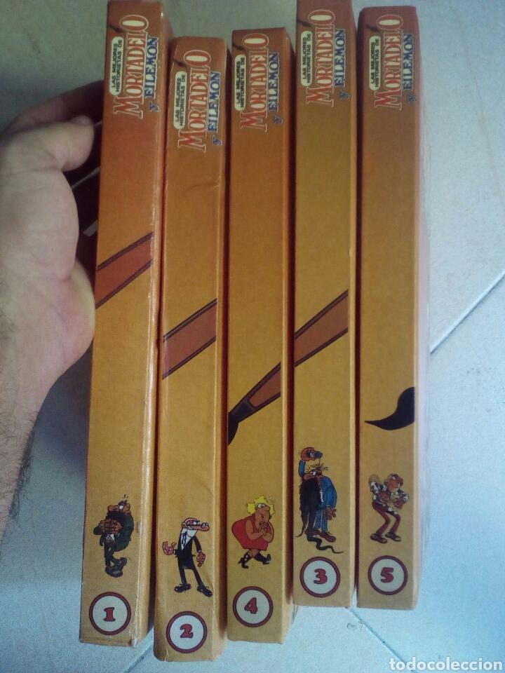 Cómics: La mejores historietas de Mortadelo y Filemón, colección completa 5 tomos. - Foto 2 - 175601148