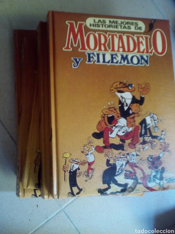 LA MEJORES HISTORIETAS DE MORTADELO Y FILEMÓN, COLECCIÓN COMPLETA 5 TOMOS. (Tebeos y Comics - Comics Colecciones y Lotes Avanzados)