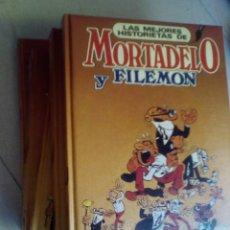 Cómics: LA MEJORES HISTORIETAS DE MORTADELO Y FILEMÓN, COLECCIÓN COMPLETA 5 TOMOS.. Lote 175601148