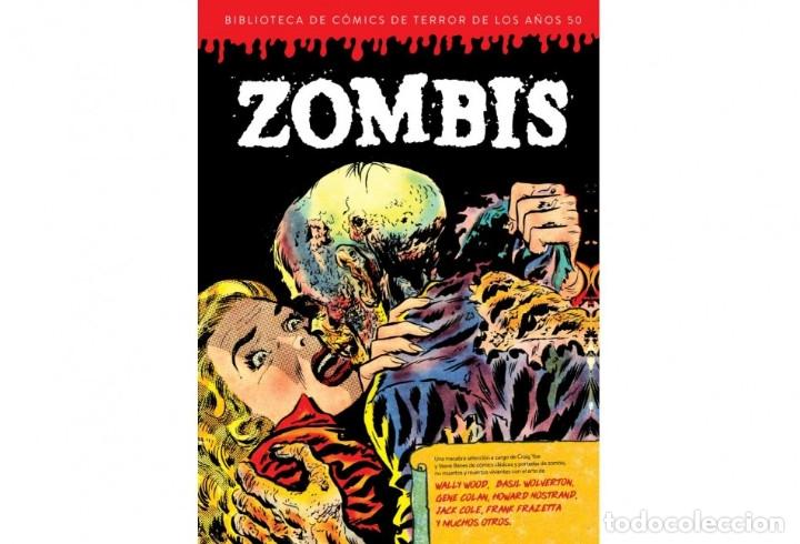 ZOMBIS BIBLIOTECA DE CÓMICS DE TERROR DE LOS AÑOS 50, VOLUMEN 3 DIÁBOLO EDICIONES (Tebeos y Comics - Comics otras Editoriales Actuales)