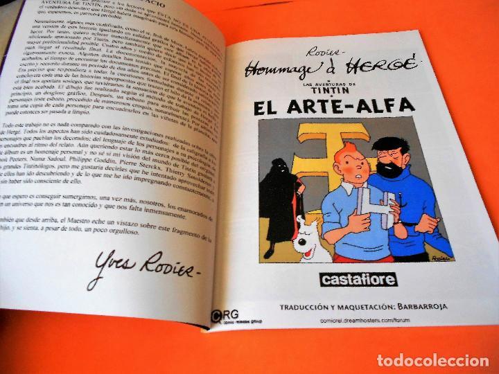 Cómics: TINTIN. LAS AVENTURAS DE TINTIN. TINTIN Y EL ARTE- ALFA. RODIER. CASTAFIORE. SOLO COLECCIONISTAS. - Foto 3 - 175673687