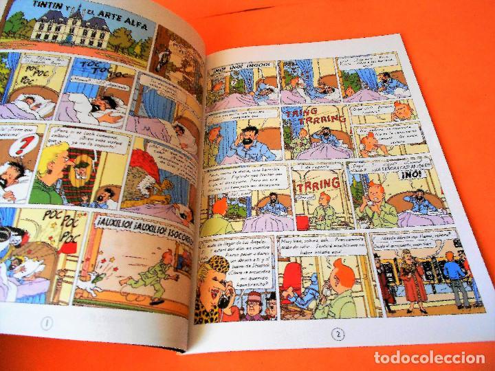 Cómics: TINTIN. LAS AVENTURAS DE TINTIN. TINTIN Y EL ARTE- ALFA. RODIER. CASTAFIORE. SOLO COLECCIONISTAS. - Foto 4 - 175673687