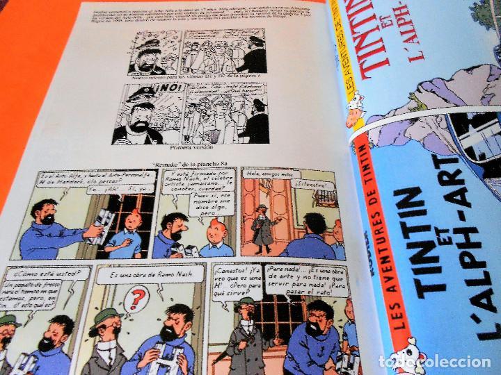 Cómics: TINTIN. LAS AVENTURAS DE TINTIN. TINTIN Y EL ARTE- ALFA. RODIER. CASTAFIORE. SOLO COLECCIONISTAS. - Foto 9 - 175673687