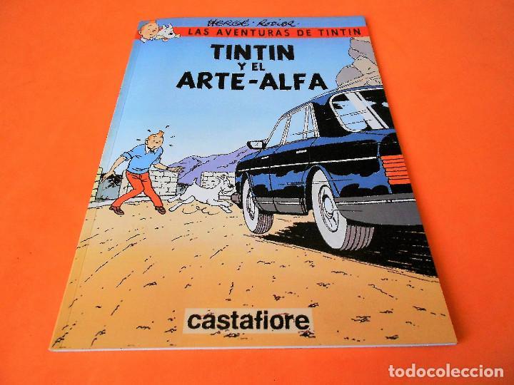 TINTIN. LAS AVENTURAS DE TINTIN. TINTIN Y EL ARTE- ALFA. RODIER. CASTAFIORE. SOLO COLECCIONISTAS. (Tebeos y Comics Pendientes de Clasificar)
