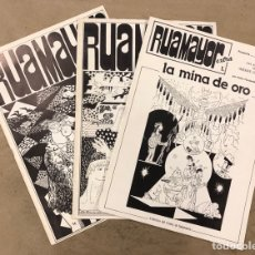 Cómics: RUAMAYOR N° 0, 1 EXTRA Y 2. LOTE 3 BOLETÍN INFORMATIVO DEL COLECTIVO DEL CÓMIC DE SALAMANCA 1982. Lote 175723639
