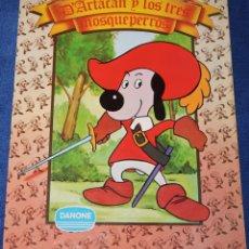 Cómics: DARTACAN Y LOS TRES MOSQUEPERROS - B.R.B. INTRNACIONAL - DANONE (1982). Lote 206400183