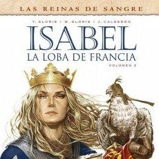 Cómics: ISABEL: LA LOBA DE FRANCIA Nº 2 - YERMO - CARTONE - IMPECABLE - SUB01Y. Lote 176029089