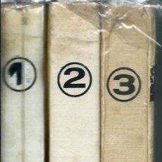 Cómics: SUPER VIDORAMA TOMOS 1, 2 Y 3 COLECCION COMPLETA - CON 18 ALBUMES JAIMES DE LA COL. VIDORAMA - UNICO. Lote 176054580
