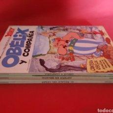 Cómics: ASTÉRIX Y OBELIX. TRES LIBROS AÑOS 80.. Lote 176070300