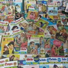 Cómics: LOTE 74 NOVELAS GRAFICAS ROMANTICAS, SURTIDAS CORIN TELLADO ETC. Lote 176169415