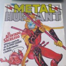 Cómics: METAL HURLANT 3 CÓMICS EUROCOMICS N°42,43 Y N°19 LO QUE ESTÁ ABAJO. Lote 176202992