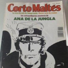 Cómics: NEW CÓMICS:CORTO MALTÉS N°14 BUEN ESTADO CON 8 CROMOS.. Lote 176208923