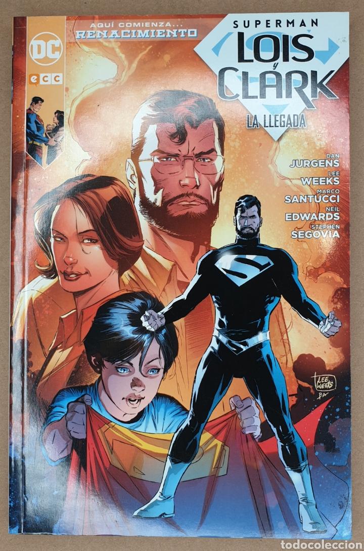 SUPERMAN LOIS Y CLARK. LA LLEGADA (Tebeos y Comics - Comics otras Editoriales Actuales)