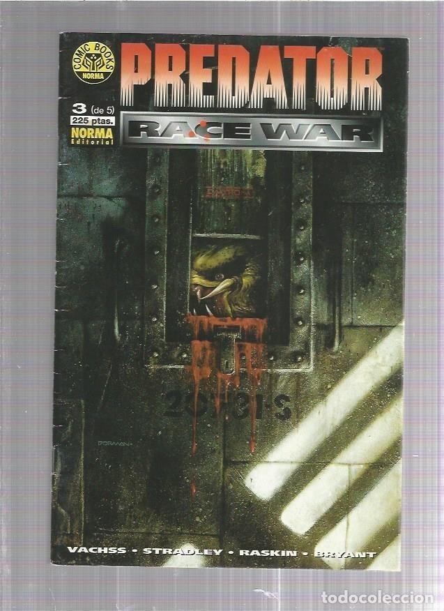 PREDATOR RACE WAR 3 (Tebeos y Comics Pendientes de Clasificar)