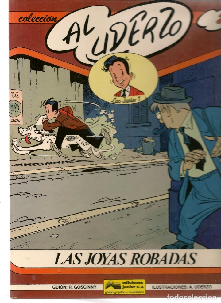 COLECCIÓN AL UDERZO. Nº 2. LAS JOYAS ROBADAS. JUNIOR / GRIJALBO / MONDADORI, 1989. (P/B73) (Tebeos y Comics Pendientes de Clasificar)