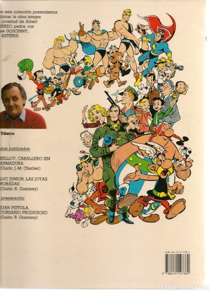 Cómics: COLECCIÓN AL UDERZO. Nº 2. LAS JOYAS ROBADAS. JUNIOR / GRIJALBO / MONDADORI, 1989. (P/B73) - Foto 2 - 176287365