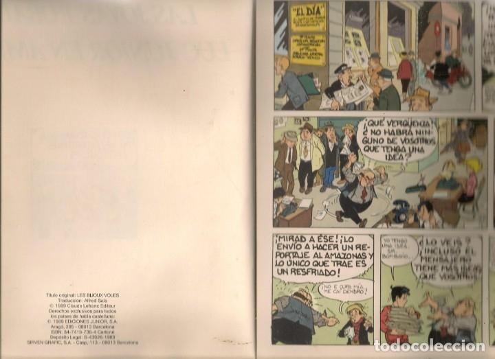 Cómics: COLECCIÓN AL UDERZO. Nº 2. LAS JOYAS ROBADAS. JUNIOR / GRIJALBO / MONDADORI, 1989. (P/B73) - Foto 3 - 176287365