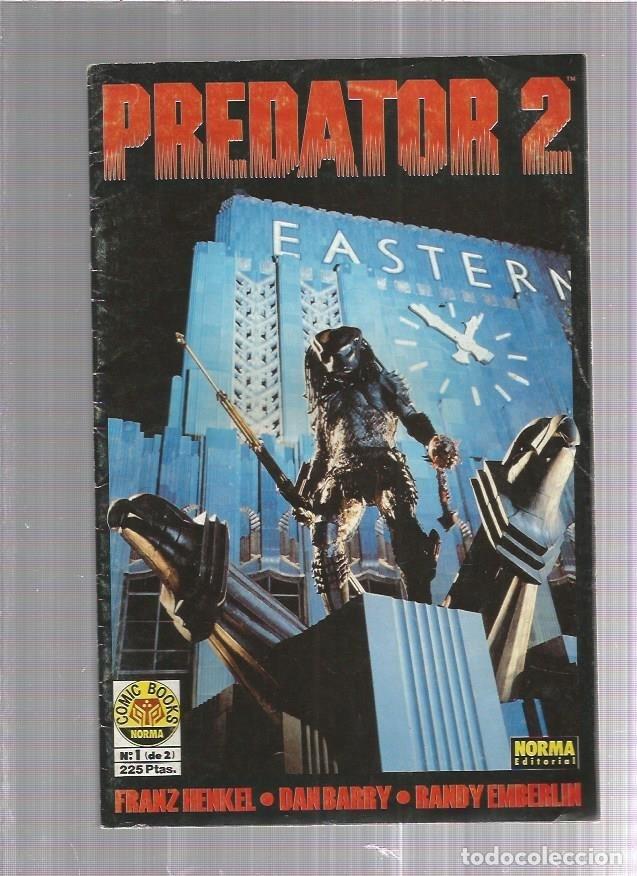 PREDATOR 2 Nº 1 (Tebeos y Comics Pendientes de Clasificar)