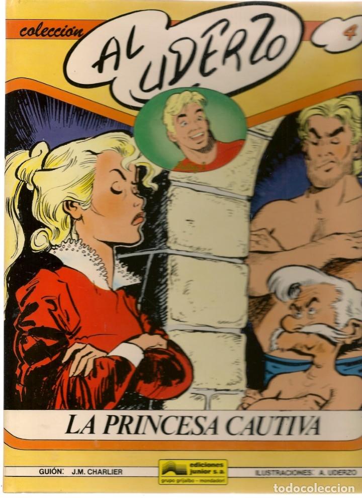 COLECCIÓN AL UDERZO. Nº 4. LA PRINCESA CAUTIVA. JUNIOR / GRIJALBO / MONDADORI, 1990. (P/B73) (Tebeos y Comics Pendientes de Clasificar)