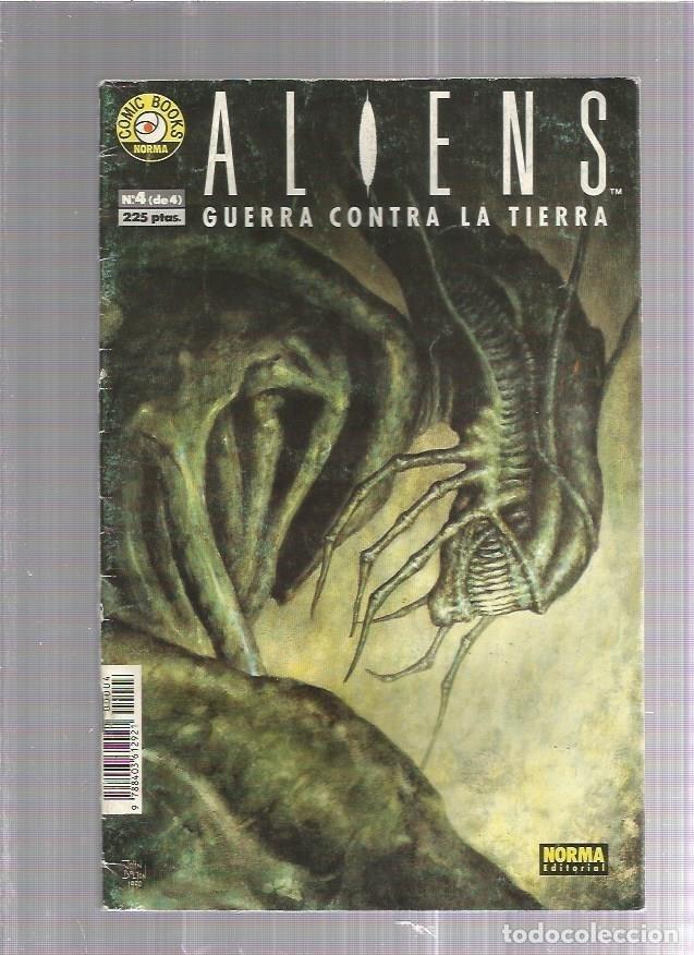 ALIENS GUERRA CONTRA 4 (Tebeos y Comics Pendientes de Clasificar)