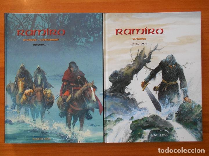 RAMIRO - EDICION INTEGRAL COMPLETA - TOMO 1 Y 2 - W. VANCE - PONENT MON (HI) (Tebeos y Comics - Comics otras Editoriales Actuales)