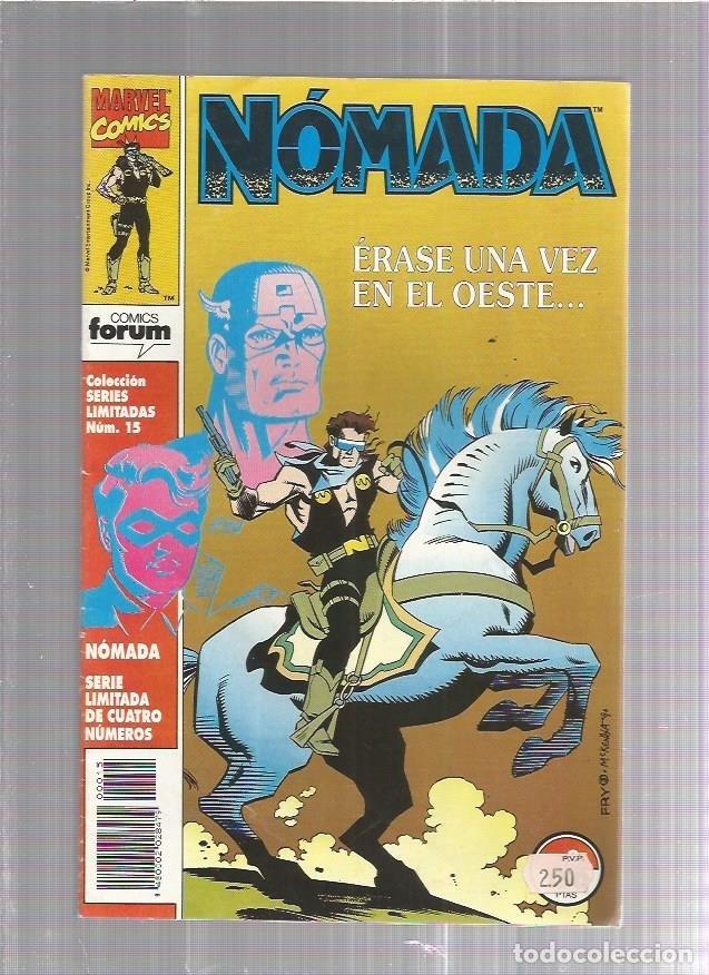 SERIES LIMITADAS 15 NOMADA (Tebeos y Comics Pendientes de Clasificar)