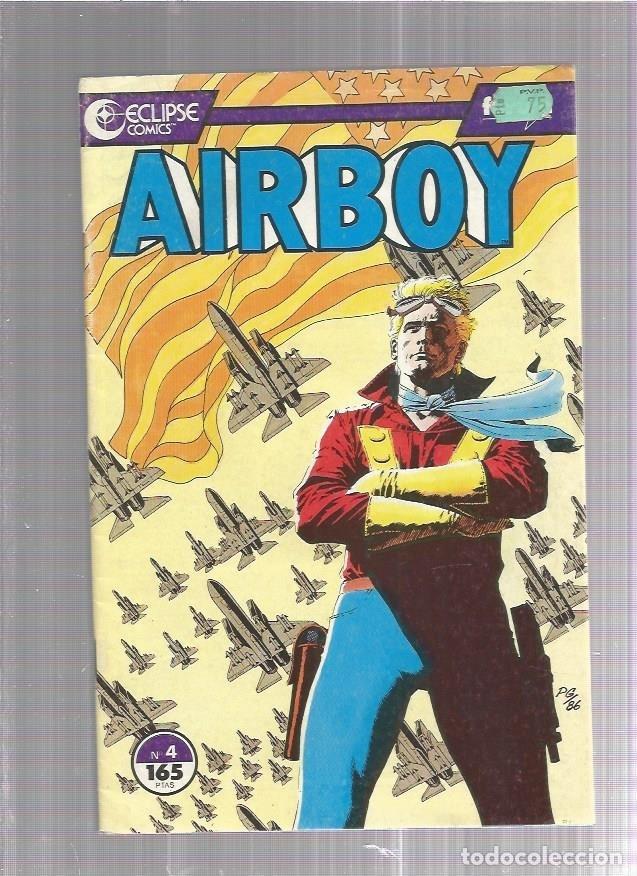 AIRBOY 4 (Tebeos y Comics Pendientes de Clasificar)