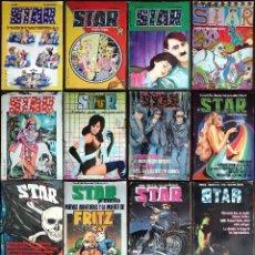 Cómics: REVISTA STAR 15 NÚMEROS + EL EXTRA DE VERANO CON ENTREVISTA A LOU REED. VER FOTOS. Lote 176256852