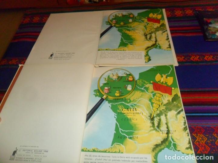Cómics: ASTERIX COLECCIÓN PILOTE 3 DE MOLINO 27 DE BRUGUERA. GRAN OPORTUNIDAD. AÑO 1965. LOTE AMPLIADO. - Foto 9 - 54362808