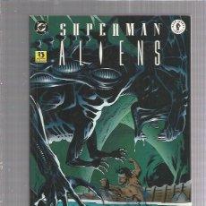Cómics: SUPERMAN ALIENS 3. Lote 176408655